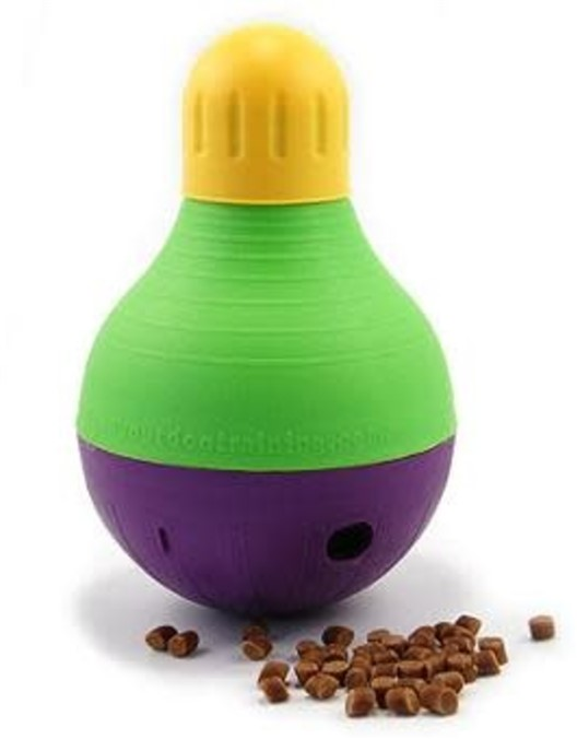 Bob A Lot mentally stimulating food toy for dogs