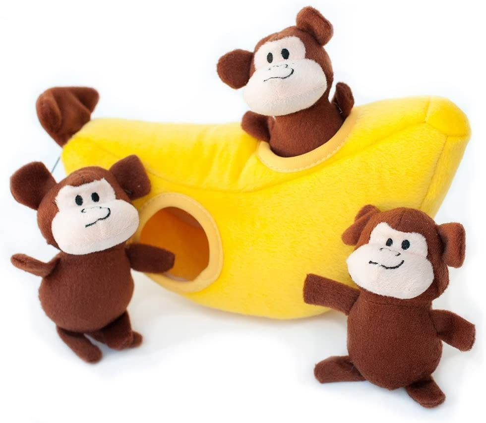 Zippy Paws interactive hide and seek monkey toy