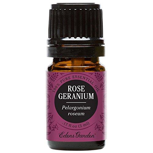 Eden Gardens Rose Geranium Essential Oil Flea and Tick Repellent for dogs