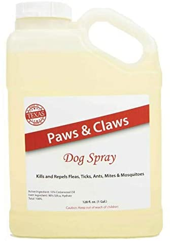 Paws and claws natural flea and tick repellent refill size
