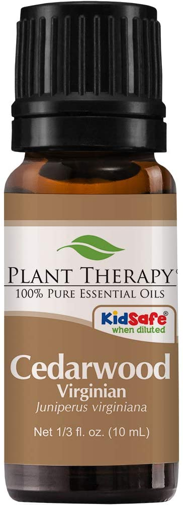 Plant therapy virginian cedarwood oil for natural flea and tick protection for dogs