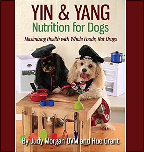 book cover for Yin and Yang Nutrition for Dogs