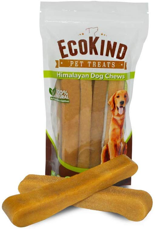 Ecokind Himilayan Dog Chews for teething puppies