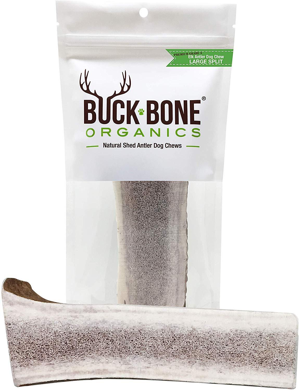 Buck Bone Split Elk Antler for Dogs