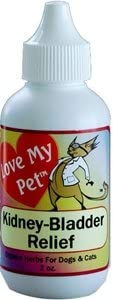 Love My Pet Kidney Bladder Relief for urinary incontinence in dogs