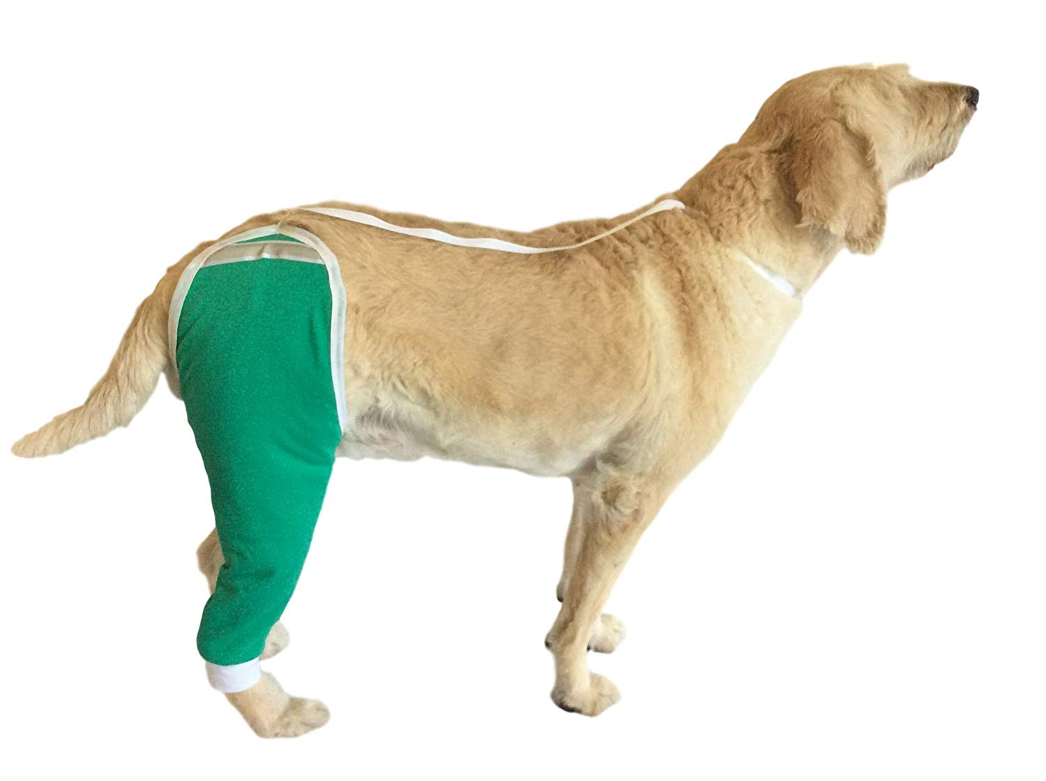 dog recovery hip and thigh sleeve dog cone alternatives