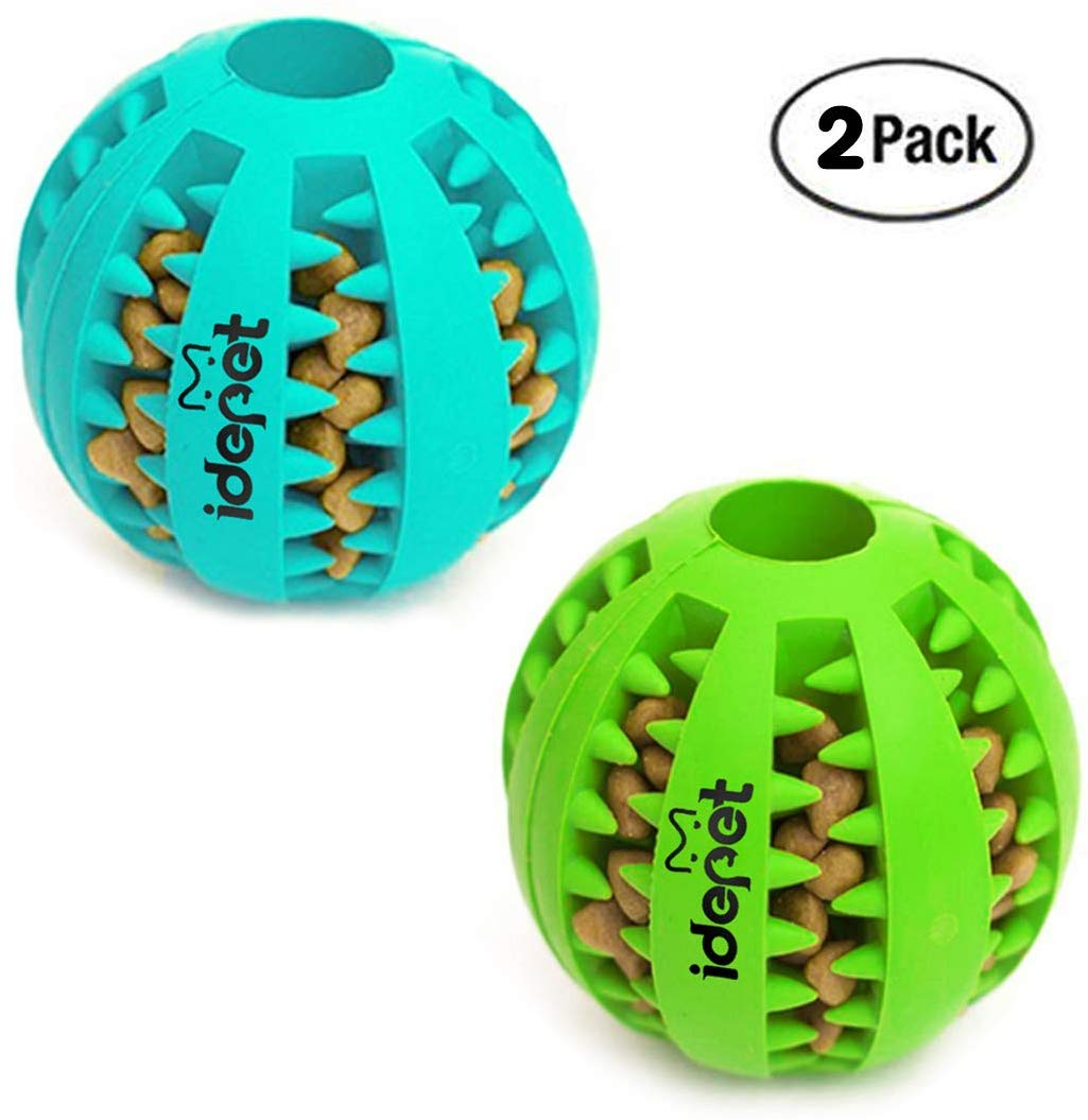 Rubber food ball food dispending toy for dogs