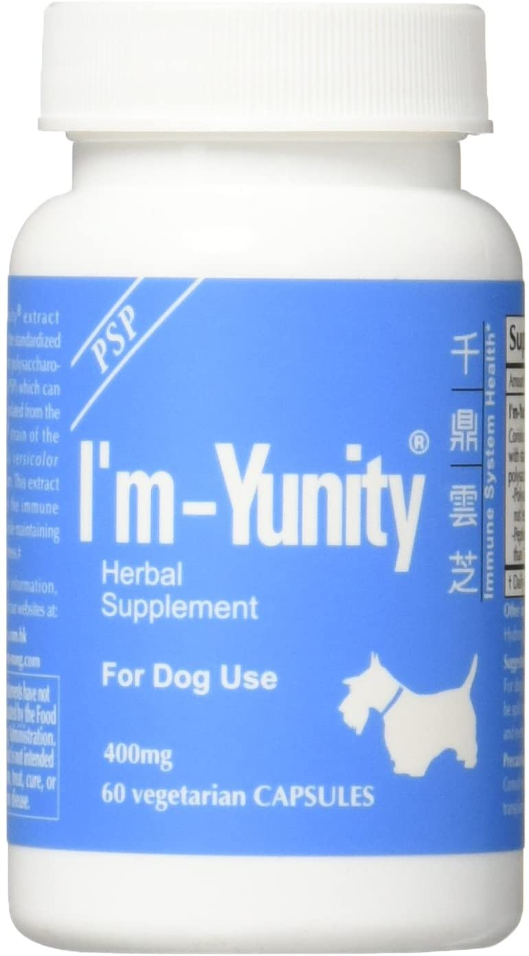 I'm Yunity herbal immune booster for dogs
