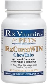RxCurcuWIN curcumin immune system booster for dogs