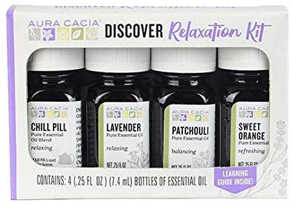 aura cacia relaxation oils