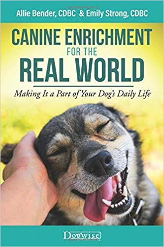 Canine Enrichment Book containing dog enrichment activities
