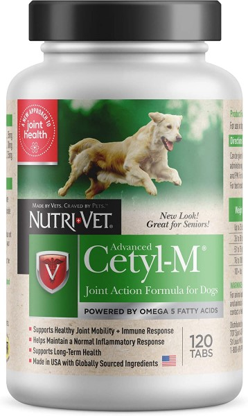 Nutri Vet Cetyl M joint supplement for dogs