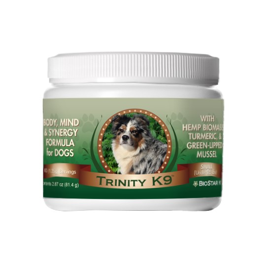 Biostar Trinity joint support product for arthritis in dogs