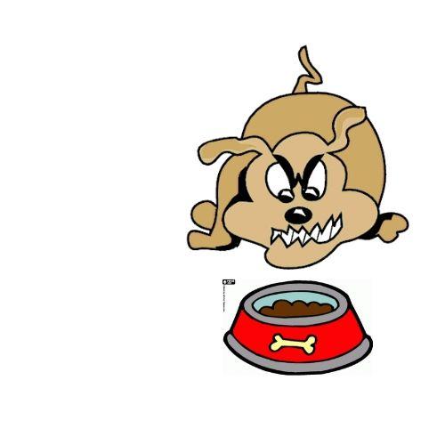 dog resource guarding food