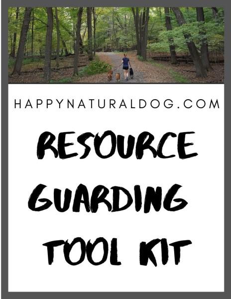 Dog resource guarding tool kit