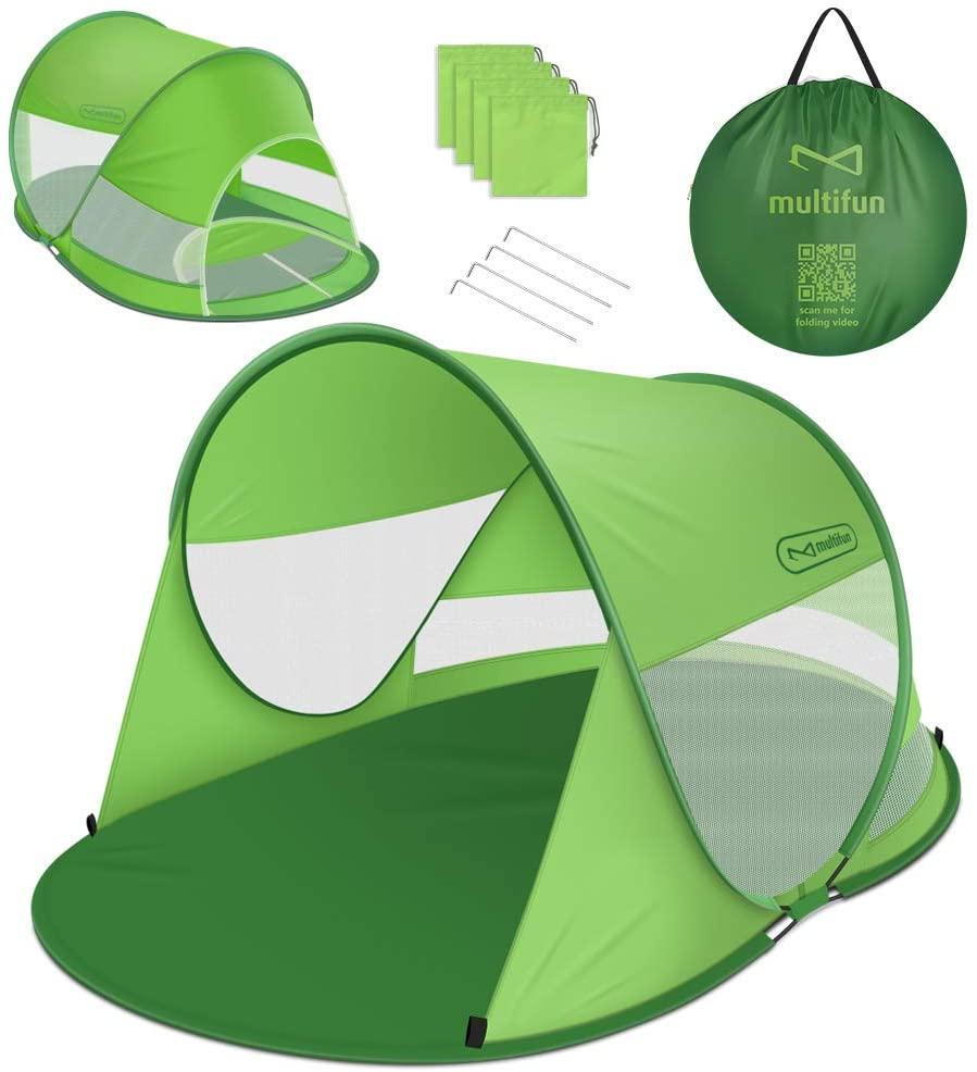 Multifun dog shade tent