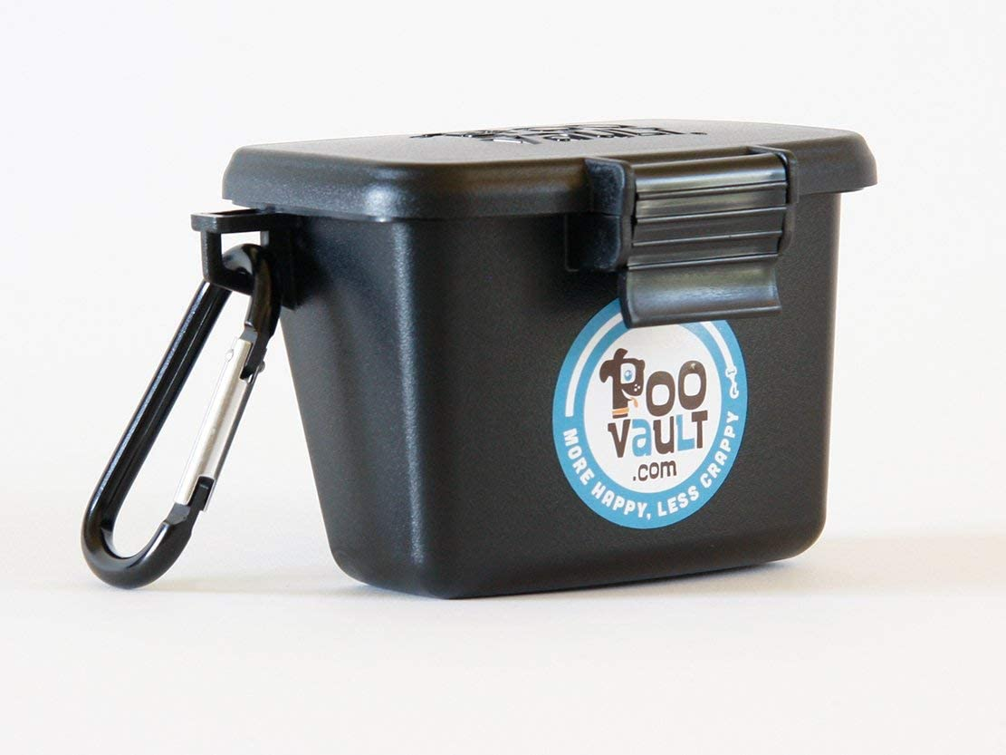 Poo Vault hiking storage container for dog poop disposal