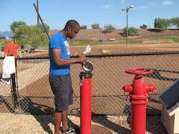 dog poop digester at Tempe AZ dog park