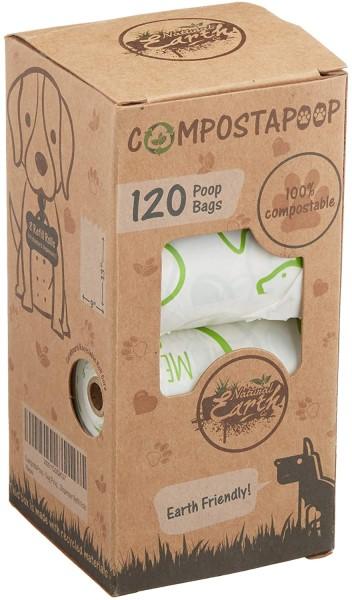 Compostapoop eco-friendly dog poop bags