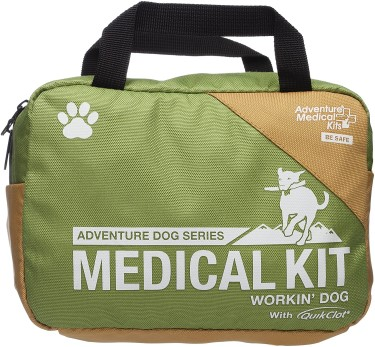 hiking first aid kit for dogs front of bag