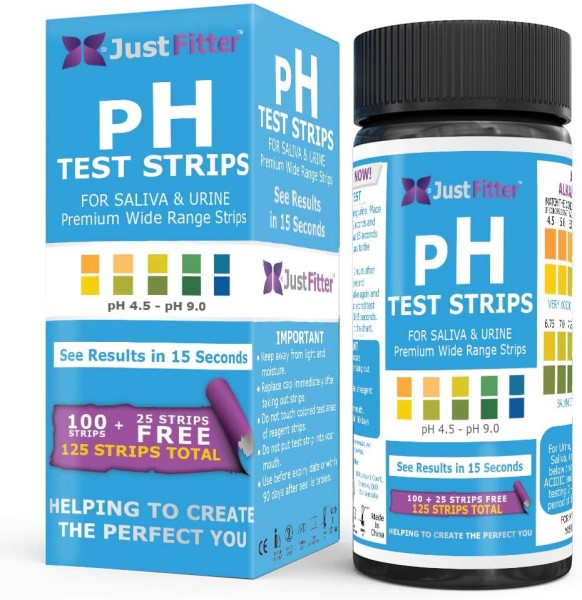 Just Fitter pH Strips
