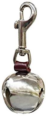 Leather Bear Bell with leash clip
