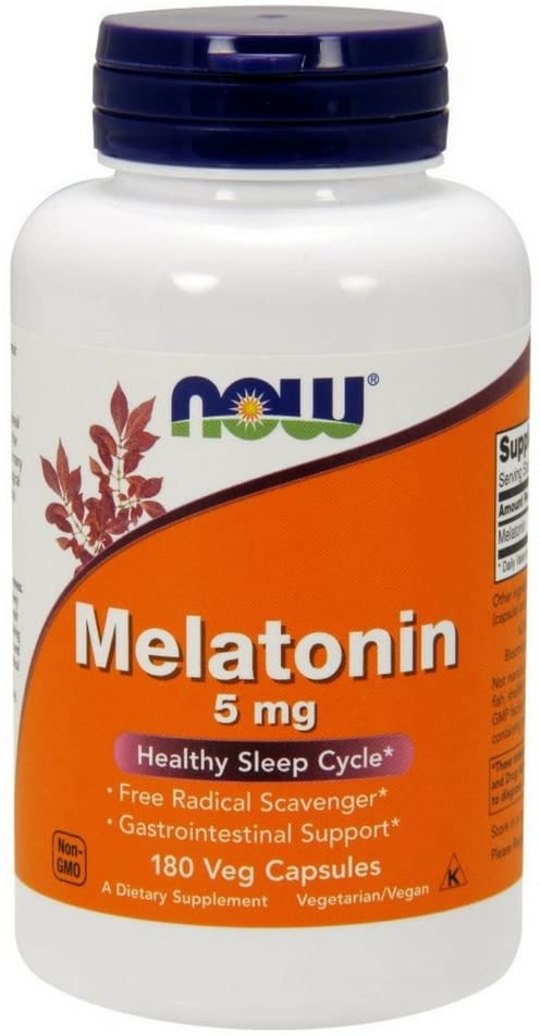 NOW Supplements Melatonin