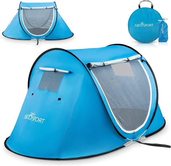 Pop up tent for hiking with dogs to shade from sun