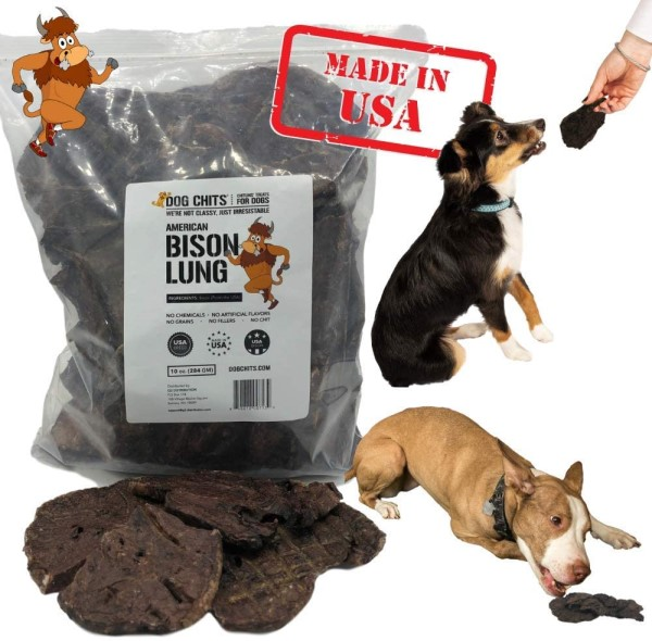 Dog Chits Bison lung chews