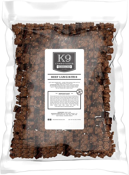 K9 connoisseur Beef lung bites