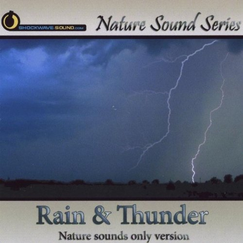 Rain & Thunder CD for dog thunderstorm anxiety training