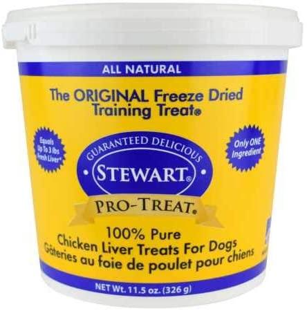 Stewart freeze dried chicken liver