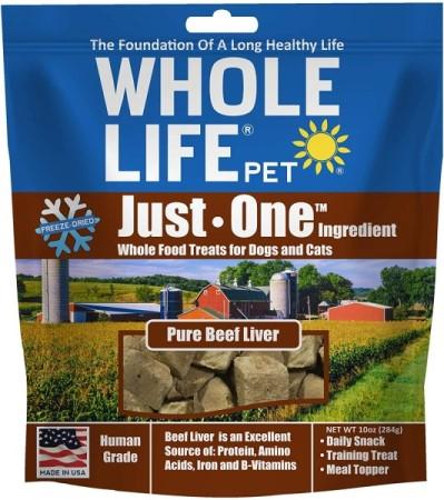 Whole Life Beef Liver healthy dog treats (399 x 450)
