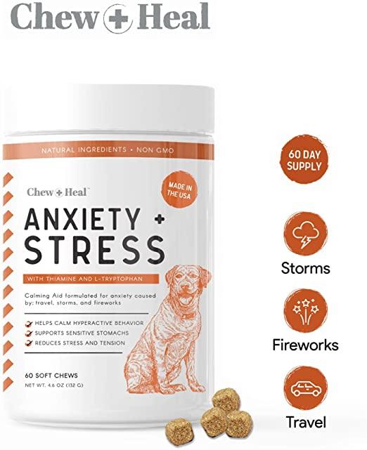 Chew + Heal Calming Dog Supplement