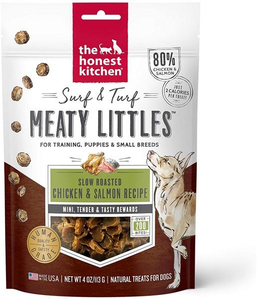 honest kitchen chicken & salmon healthy dog treats