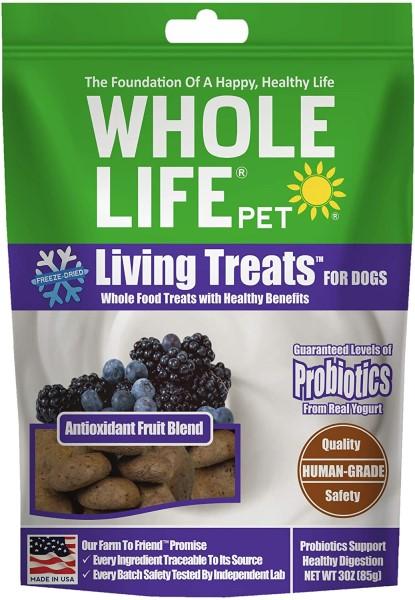 whole life berry probiotic healthy dog treats