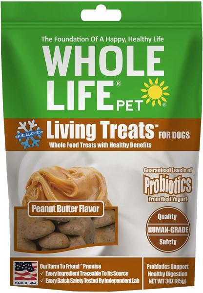 whole life peanut butter probiotic dog treats