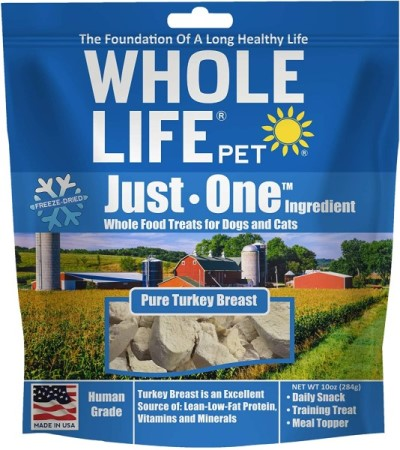 Whole Life Just One Turkey Breast Healthy Dog Treats