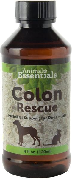 Animal Essentials Colon Rescue 4 oz home remedy for dog diarrhea