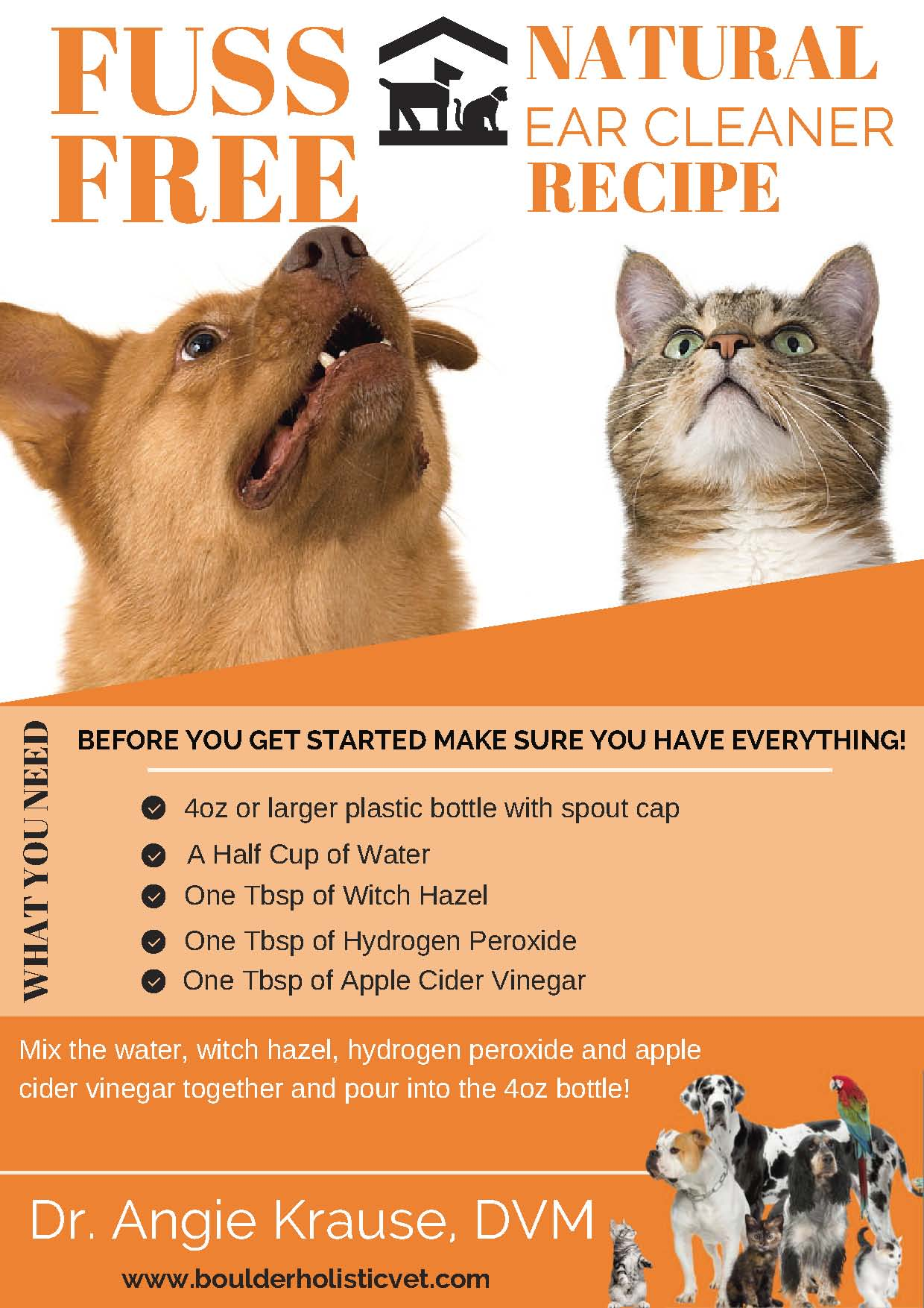 fuss free ear cleaning guide boulder holistic vet Page 1