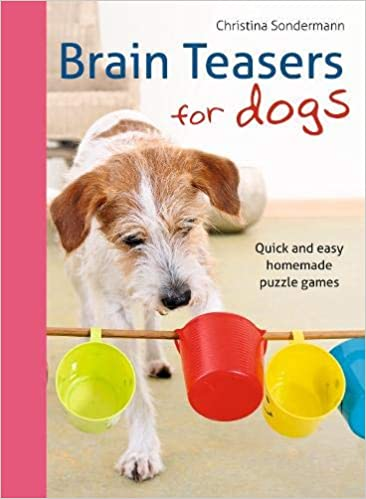 Brain Teasers for Dogs Homemade Puzzle Games for Dogs Book