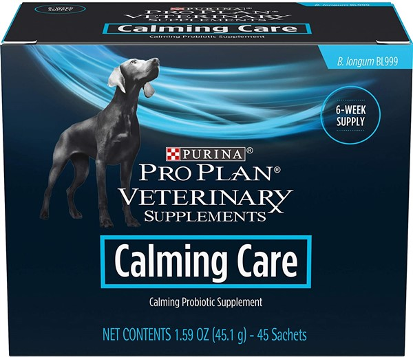 Purina calming care probiotic for dog aggression 600 x 519