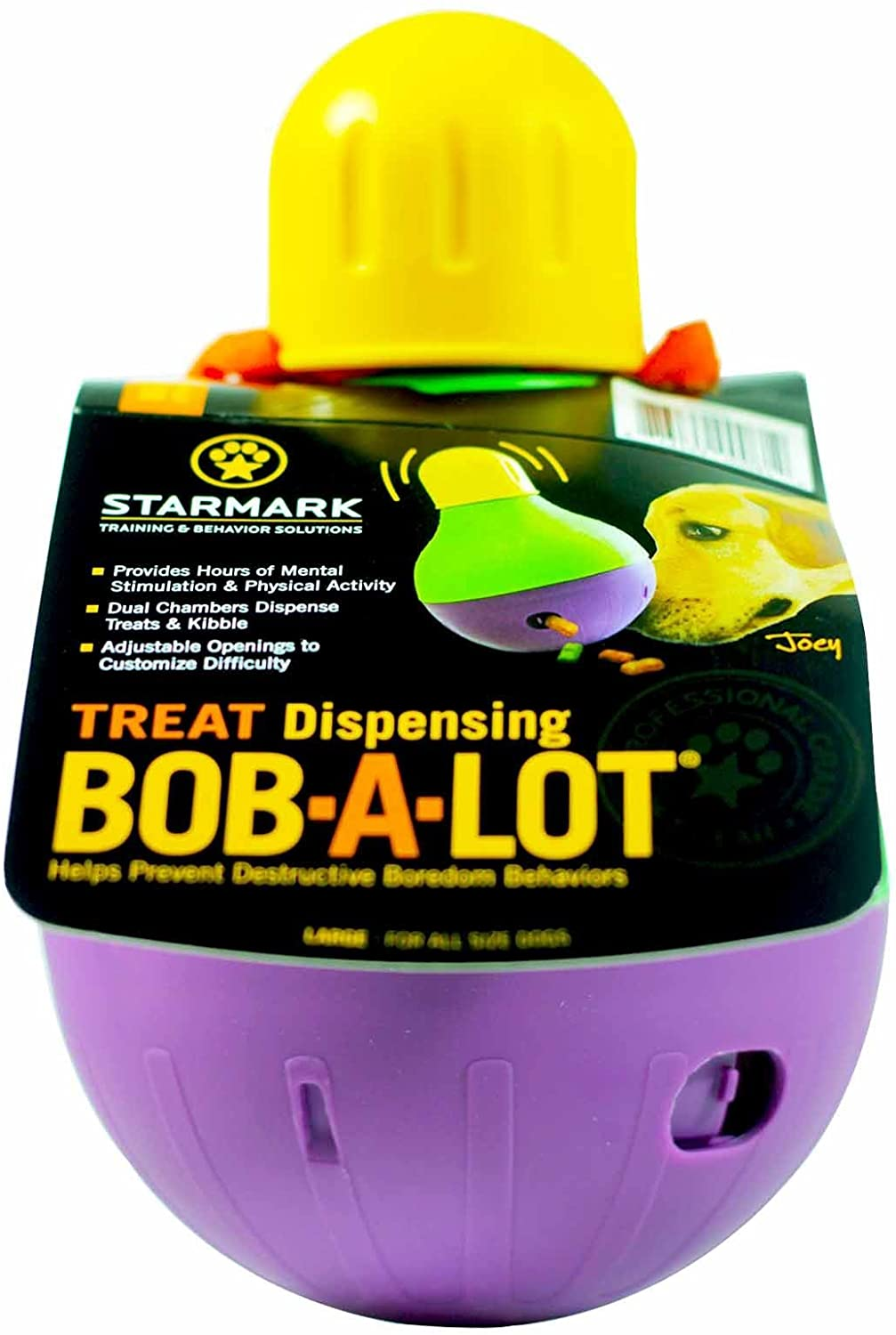 Bob A Lot food dispensing toy for dogs