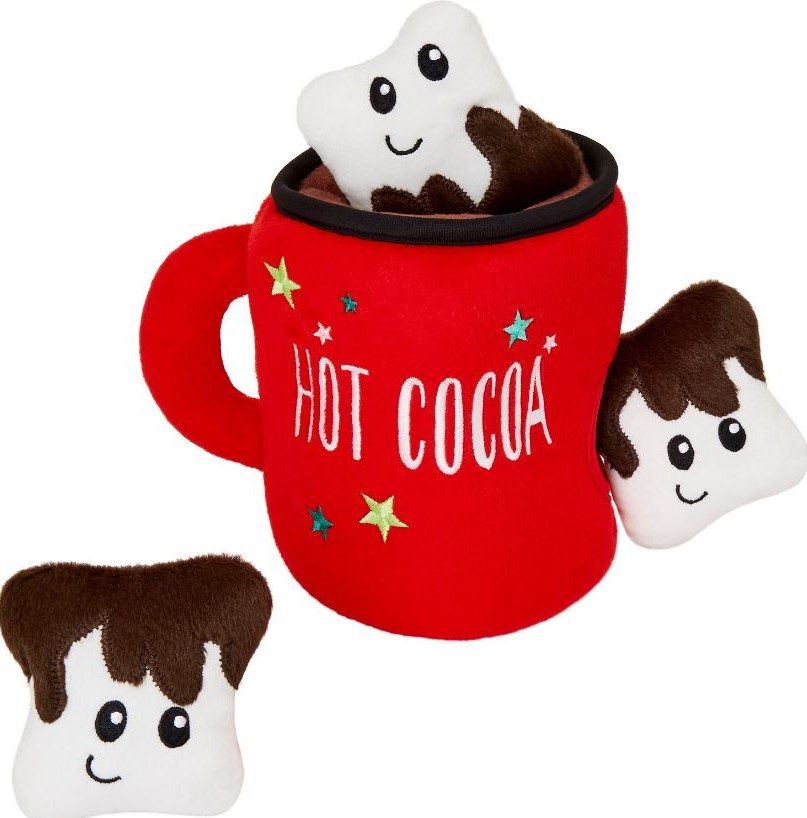 frisco best gifts for dogs hot cocoa mug puzzle toy 1