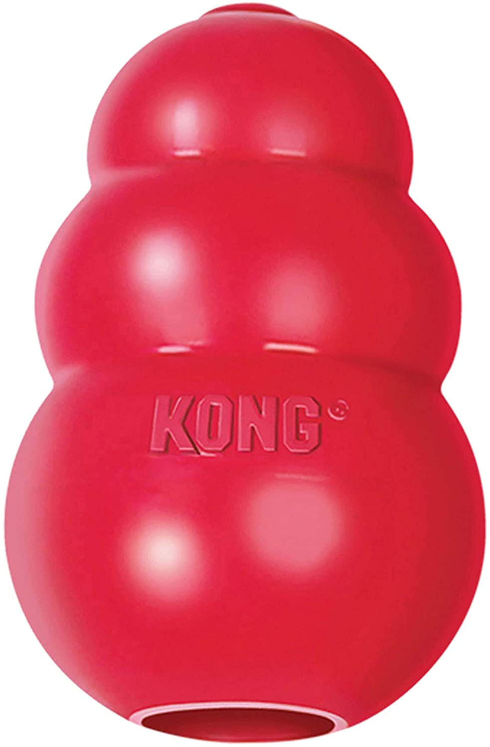 Kong Food dispensing toy for dogs helps relieve stress