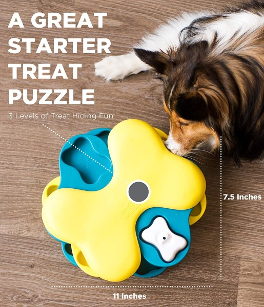 Outward Hound nina ottosson tornado dog puzzle toy