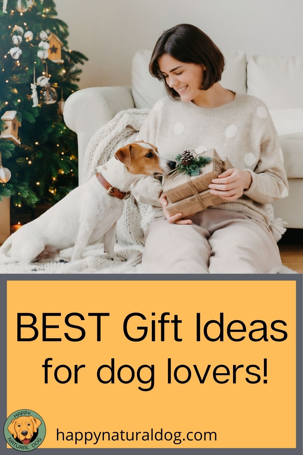 Best gift ideas for dog lovers pin