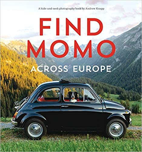 Find Momo Across Europe gift for dog lovers