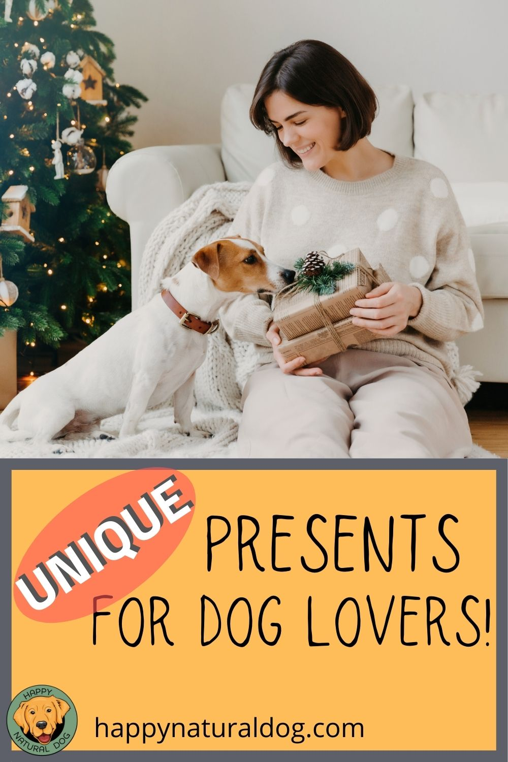 presents for dog lovers pin