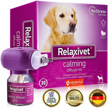 dog calming pheromone to relieve stress in dogs